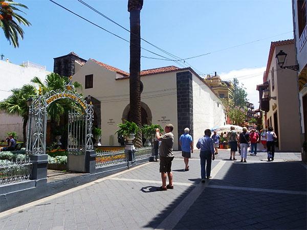 plaza de inglesia san francisco Viaje por el Puerto de la Cruz (Parte 2)