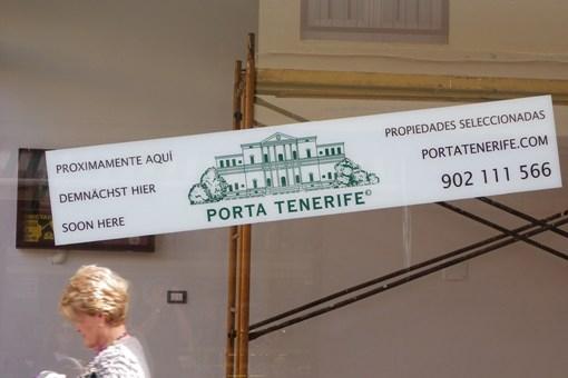 porta tenerife Agencia Inmobiliaria situada en la Plaza del Charco, Puerto de la Cruz.
