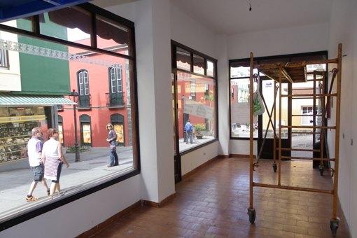 property shop tenerife Agencia Inmobiliaria situada en la Plaza del Charco, Puerto de la Cruz.