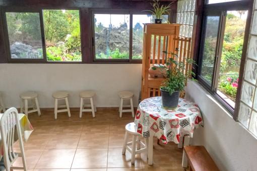 La casa tienen una superficie habitable de 100 metros cuadrados