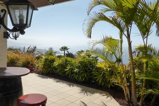 Excelente chalet con vistas al mar y las montañas en Santa Ursula