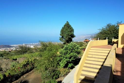 Propiedad grande con 2 casas en medio de la naturaleza en Valle La Orotava