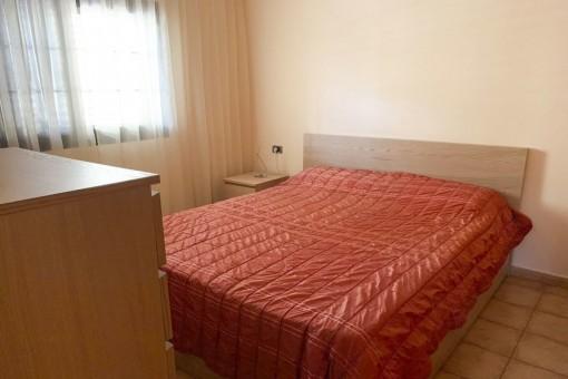 Dormitorio del apartamento