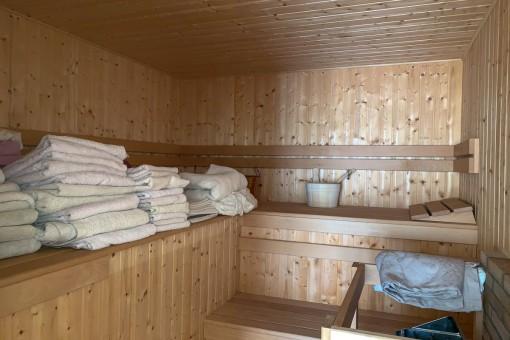Sauna fantástica