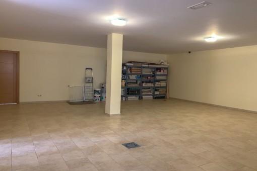 Garaje espacioso