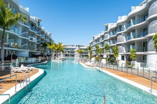 Apartamento de 2 dormitorios en Las Olas - Palm Mar