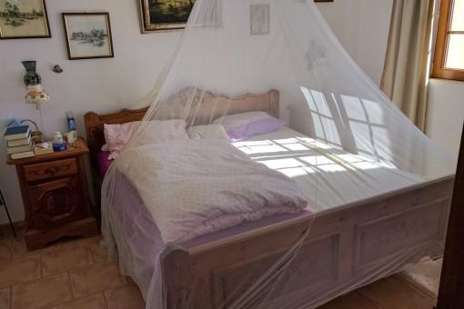 Una de cuatro habitaciones