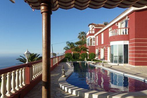 Santa Ursula Villa Elegante Con Piscina Y Vistas Al Mar