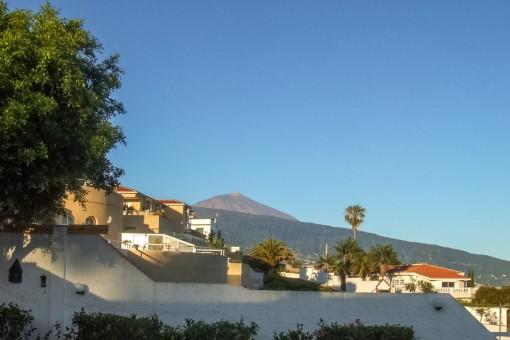 Maravillosas vistas también al Teide