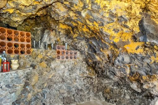 Interior de la bodega