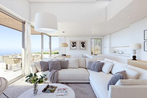 Lujosas residencias de nueva construcción vista al mar en un exclusivo resort en Guia de Isora