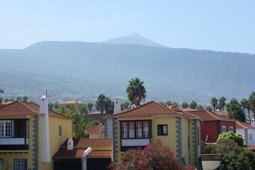Gran lugar con Valle de La Orotava y el Teide