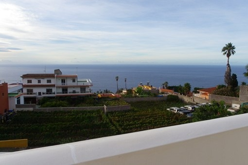La magnífica vista desde la terraza