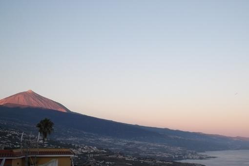 Las impresionantes vistas al Teide y al Atlántico