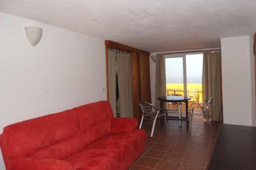 Otra habitación con la terraza