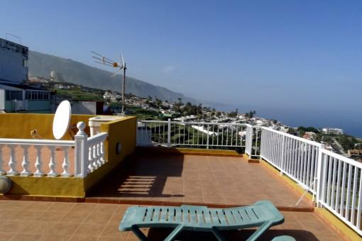 Impresionantes vistas desde la terraza