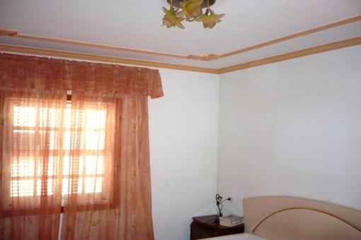Decoración en la habitación principal
