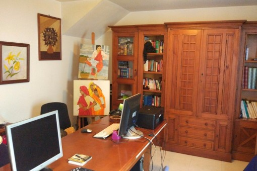 Oficina que se puede hacer como un estudio