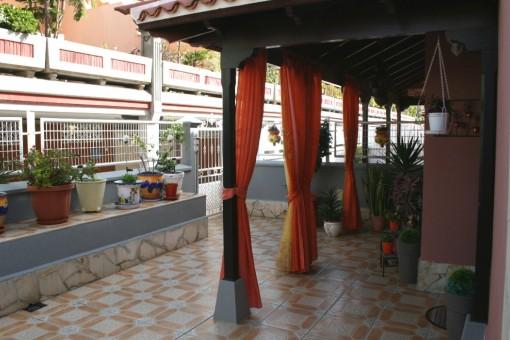 Gran patio