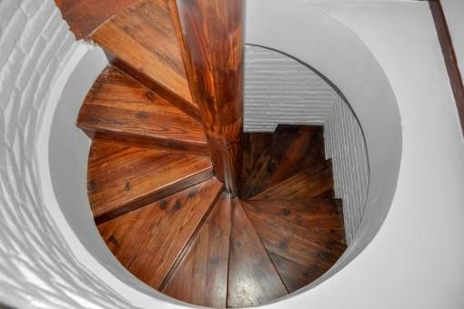 Escalera de caracol espescial