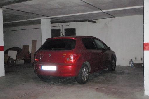 Dos plazas de aparcamiento en el garaje subterráneo