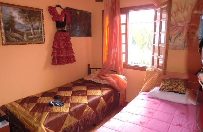 Habitación de invitados agradable