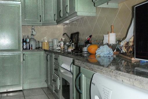 La cocina totalmente equipada