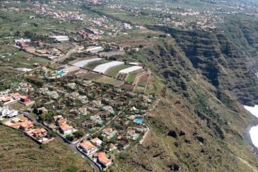 Terreno para la construcción de una villa con vistas al mar en el norte de Tenerife